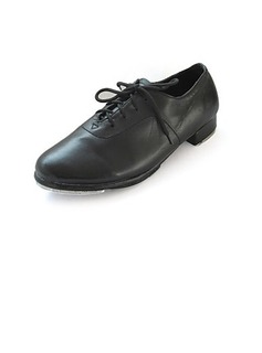Leatherette Flats Tap Ballroom Dance Shoes With Lace-up (053024329)