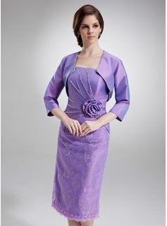 3/4-Length Sleeve Taffeta Special Occasion Wrap (013012358)