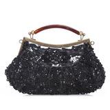 Unique Satin Fashion Handbags (012039136)