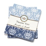 Personalized Floral Style Thank You Cards (Set of 50) (114054960)
