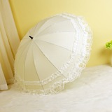 Pearl light Wedding Umbrellas (124204994)