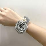 Vivifying Silk Flower Flower Sets - Wrist Corsage/Boutonniere (123205644)