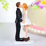 Baciare le coppie Resina Matrimonio Decorazioni per torte (122036162)
