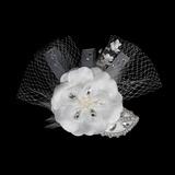 Mode Kristall Kopfschmuck/Blumen und Federn (042015991)