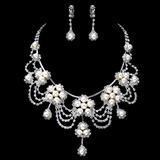 Gorgeous Legering/Pärla med Strass Damer' Smycken Sets (011017846)
