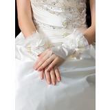 Elastische Satin Handgelenk Länge Party/Weise Handschuhe/Braut Handschuhe (014036638)