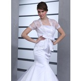 Kurze Ärmel Lace Hochzeit Bolero (013022589)