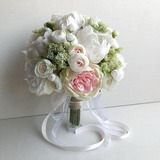 Blooming Round Bridesmaid Bouquets - (123205654)