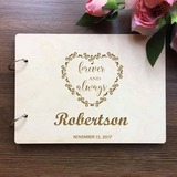 Personalized Wood Guestbook (101203914)