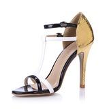 Keinonahasta Sandaalit Avokkaat Peep toe jossa Solki kengät (087051703)