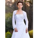 Lange Ärmel Chiffon Hochzeit Bolero (013024368)