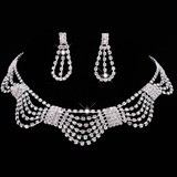 Alloy/Rhinestones With Rhinestone Ladies' Jewelry Sets (011177838)