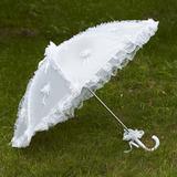 Drömlikt Spetsar Bröllops Paraplyer (124032719)