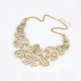 Prächtig Legierung Damen Mode-Halskette (137044901)