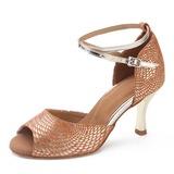 Camoscio Tacchi Latino Scarpe da ballo (053200545)