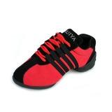 Vrouwen Zeildoek Dans Sneakers Oefening met Vastrijgen Dansschoenen (053056416)
