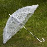 Exquisite Lace Wedding Umbrellas (124032713)
