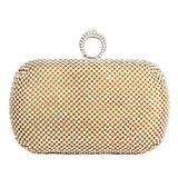 Elegant Metall mit Strass Handtaschen (012053141)