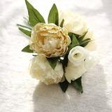 Colorful Fleur en soie Décorations/Fleurs à la Tableau de Mariage - (123192855)