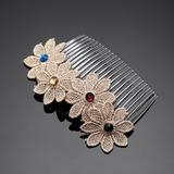 Pretty Rhinestone/Lace/Plastic Combs & Barrettes (042057909)