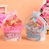 Süße Liebe Korb Geschenktaschen mit Bänder (Satz von 12) (050054569)