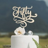 Verjaardag/Verjaardag Acryl/Hout Taarttoppers (119205820)