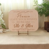 Simple Guestbook Sign With Easel (101201190)