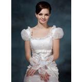 Satin Ellenbogen Länge Braut Handschuhe (014020516)