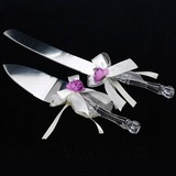 Floral Theme Serving Sets With Ribbons (121030526)