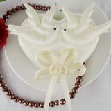 Amore Uccelli Raso Matrimonio Decorazioni per torte (Set di 4) (119057600)