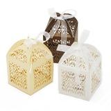 Schöne Geschenkboxen mit Bänder (Satz von 12) (050055108)