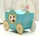 Braut u. Bräutigam/Kutsche Geschenkboxen (Satz von 12) (050028068)