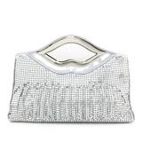 Glänzende Pailletten mit Metall Handtaschen (012053175)