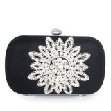 Elegant Seide mit Glitzer/Strass Handtaschen (012033910)