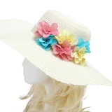 Colorful Imported Paper/Rattan Straw Flowers & Feathers (042052519)