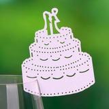 Gâteau de mariage Papier perlé Cartons (lot de 12) (131037413)