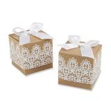 Klassisch Cubic Geschenkboxen mit Bänder (Satz von 12) (050054563)