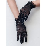 Tulle Wrist Length Party/Fashion Gloves/Bridal Gloves (014189804)