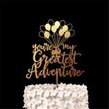 Momento Romantico Acrilico/Legno Decorazioni per torte (119187771)