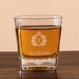 Sposo Regali - Personalizzato Elegante Vetro Bicchiere di whisky (257184590)