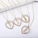 Elegant Alloy Necklaces (011205834)