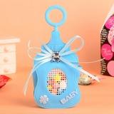 Babybär Flasche geformt Geschenktaschen mit Bogen (Satz von 12) (050054596)