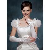 Elasthan Opera Länge Braut Handschuhe (014020522)