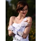 Elastisk Satin Elbow Längd Handskar Bridal (014005533)