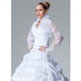 Lange Ärmel Lace Hochzeit Bolero (013003914)