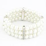 Einzigartig Legierung mit Faux-Perlen Damen Armbänder (011053744)