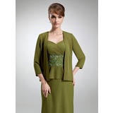 3/4-Length Sleeve Chiffon Special Occasion Wrap (013012287)