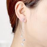Heart Shaped Zircon Copper With Zircon Women's Fashion Earrings (Sold in a single piece) (137199495)