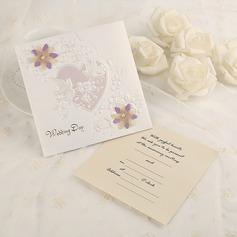 Classic Style Side Fold Invitationskort (Sæt af 50) (114091461)