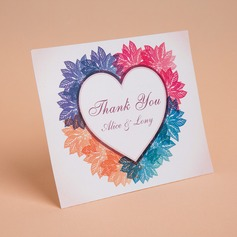 Personalized Heart Style Thank You Cards (Set of 50) (114059346)